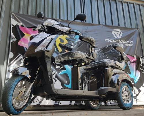 triciclo sunra electrico shino x butaca doble llevalo ya