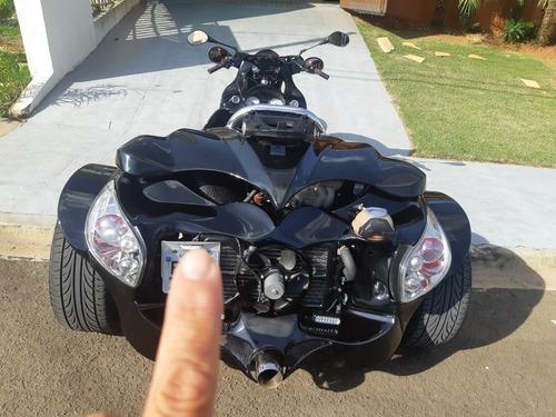 triciclo triceron motor transversal do gol 1.6 flex aceito