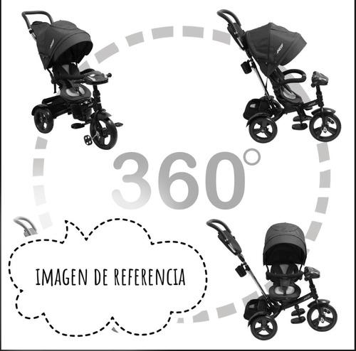 triciclo trike rosado 360 bebesit -latiendadelbebe