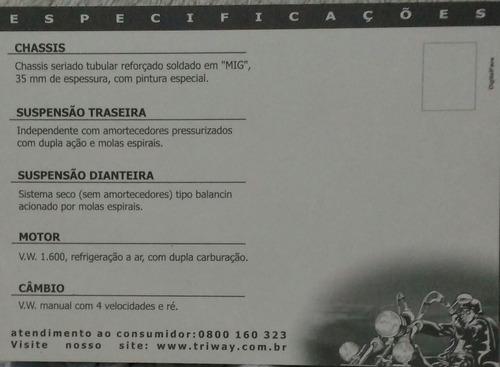 triciclo triway ano 2000 com 9408 km