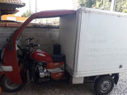 triciclo tuc tuc 250 cc baú isotermic