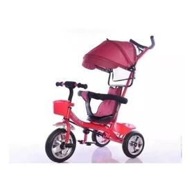 Triciclo Tzt90 Infantil Direccional Capota Gira 360 Full