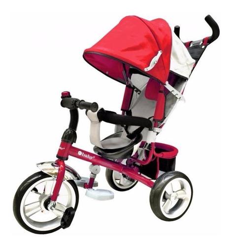 triciclo,bicicleta,multietapa, e-baby 307,reclinable,bebe,