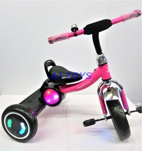 triciclos infantil luces led musicales nuevos