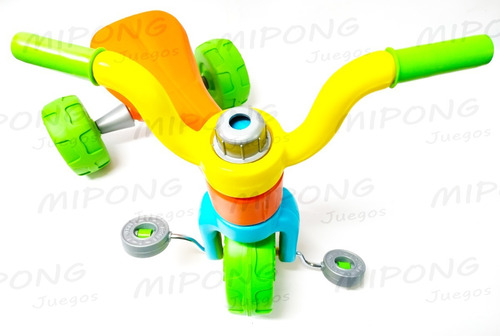 triciclos infantiles plastico vegui qrio súper resistente