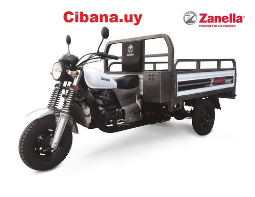 tricilo utilitario zanella 200cc 0km 2018