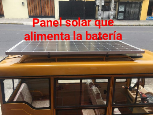tricimo electrica y panel solar, 5 puertas