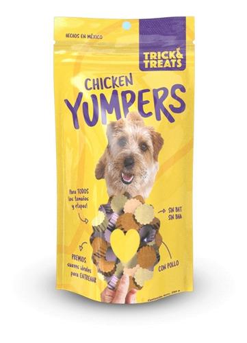 trick & treats premios suaves para perros yumpers pollo