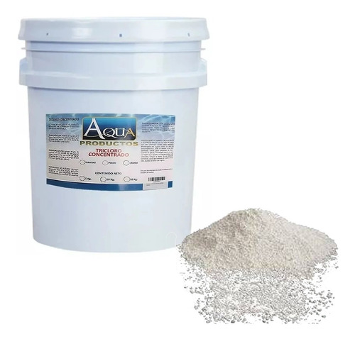 tricloro granulado 5 kgs + clarificador klaren 4 lts