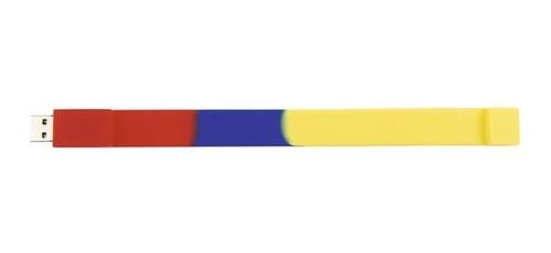 tricolor manilla bracelet para usb