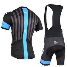 tricota y calza ciclismo team sky