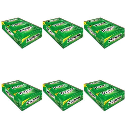 trident chiclete menta c/21 (kit c/06)