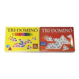 Tridomino Clasico + Tridomino De Colores + Envio