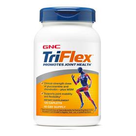 Triflex Gnc 120 Tabletas Glucosamina Msm Acido Hialuronico