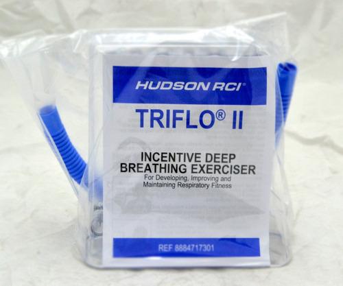 triflo inspirometro ejercitador pulmonar respiratorio hudson