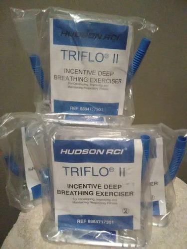 triflo nuevos sellados aparato ejercicio respiratorio fisio