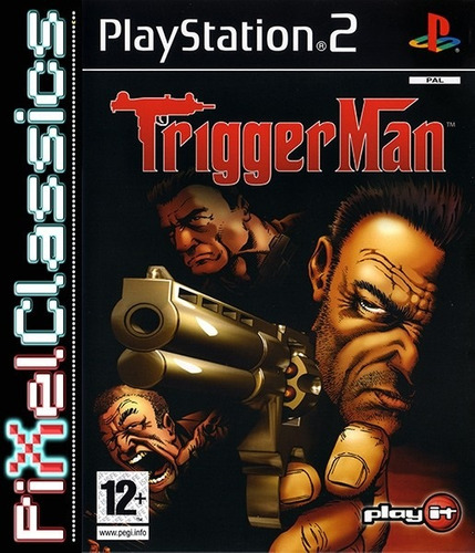 trigger man ps2 usado
