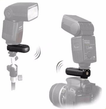 trigger yongnuo rf-603ii para canon, 2 unidades+cable c1