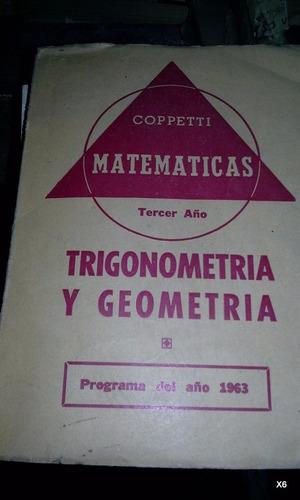 trigonometría y geometría 3er.año coppetti