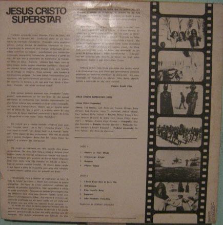 trilha filme jesus cristo superstar - 1971