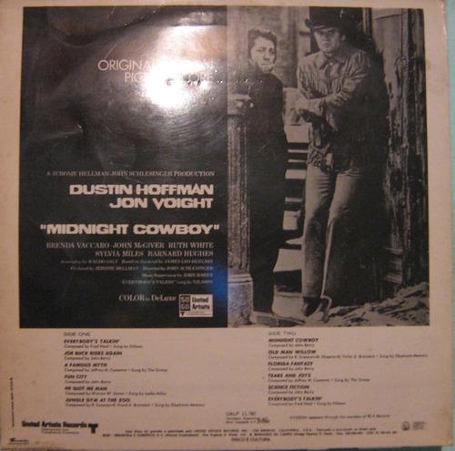 trilha filme midnight cowboy - 1969