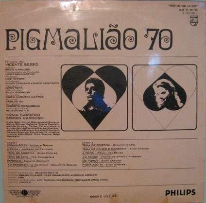 trilha sonora  original da novela da tv globo - pigmalião 70