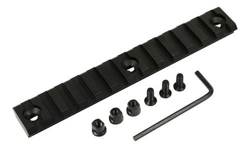 trilho picatinny 20 x134 mm keymod handguard aeg gbb airsoft