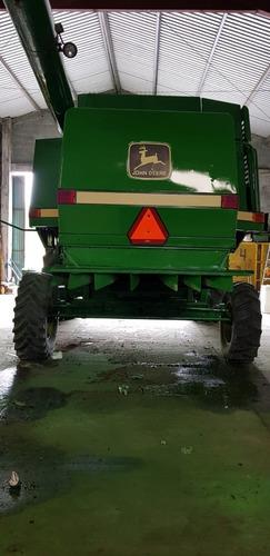 trilladora agricola john deere 9600