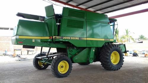 trilladora cosechadora john deere 9500