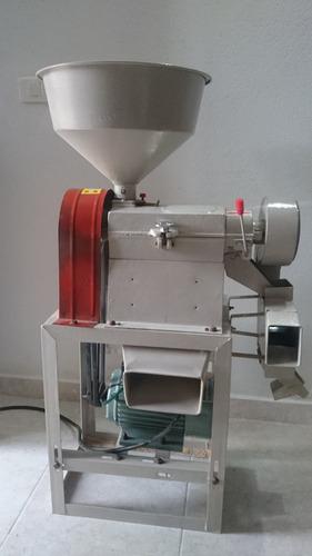 trilladora - piladora de arroz portátil 300kg/h