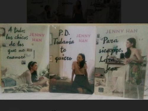 trilogía a todos los chicos de los que me enamoré jenny han