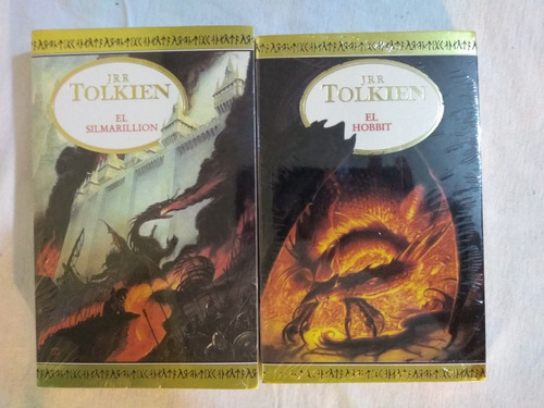 trilogía anillos + hobbit + silmarillion