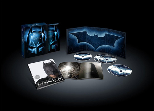 trilogía batman the dark knight blu-ray ed limitada