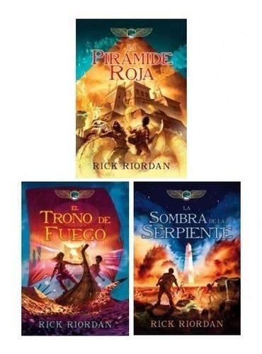 trilogía crónicas de kane (3 libros) - rick riordan
