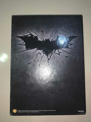 trilogía de batman box set (dvd)