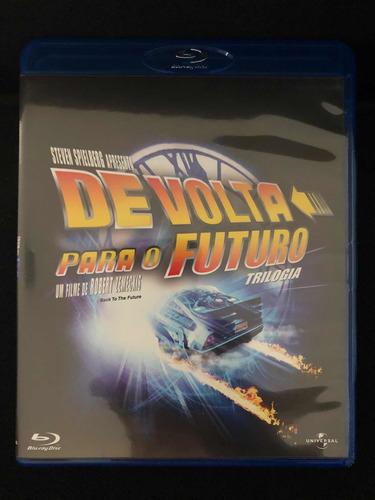 trilogia de volta para o futuro bluray