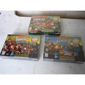 Trilogia Donkey Kong Original E Lacrada De Fabrica!
