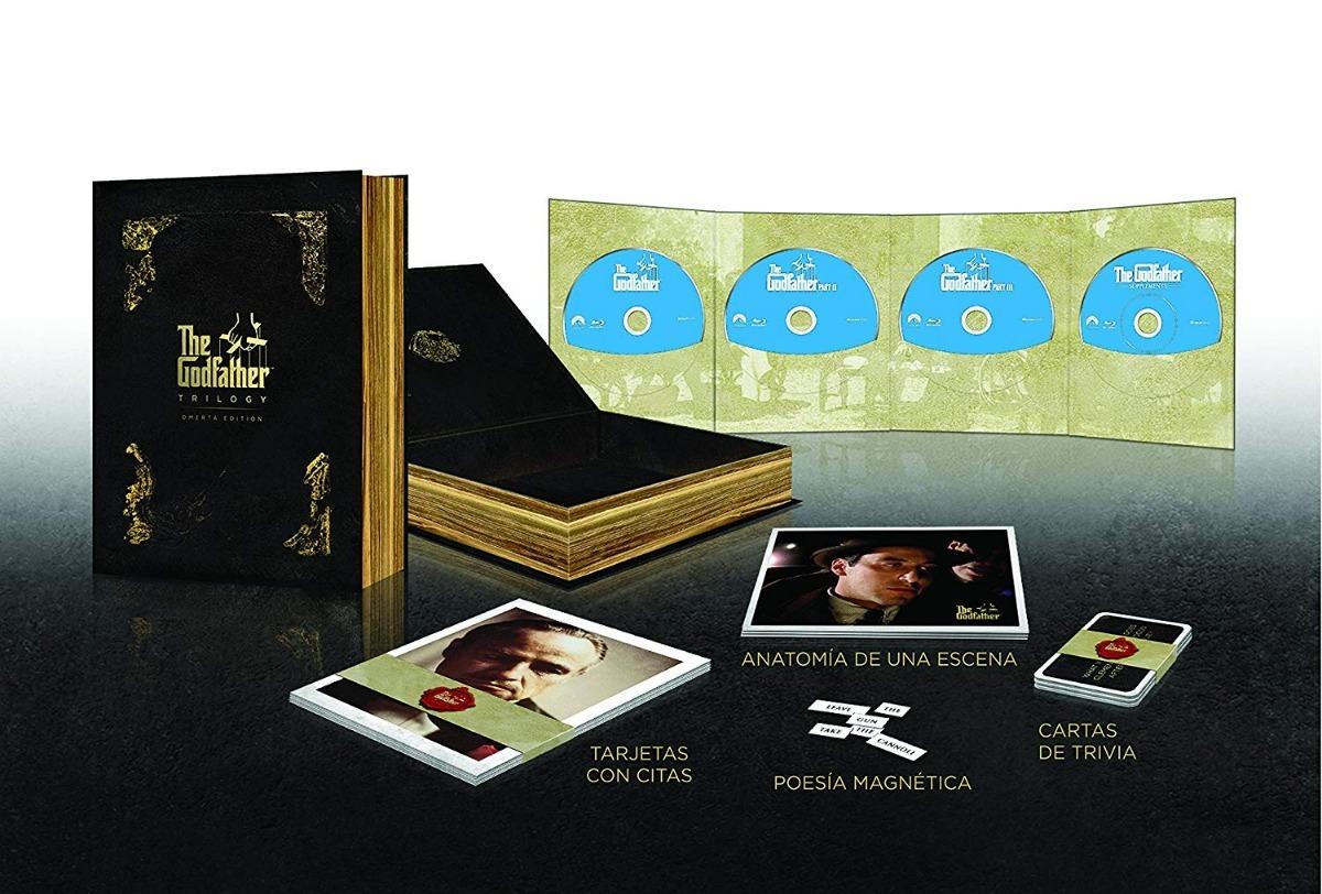 Trilogía El Padrino The Godfather 45 Aniversario Blu-ray - $ 895.00 ...