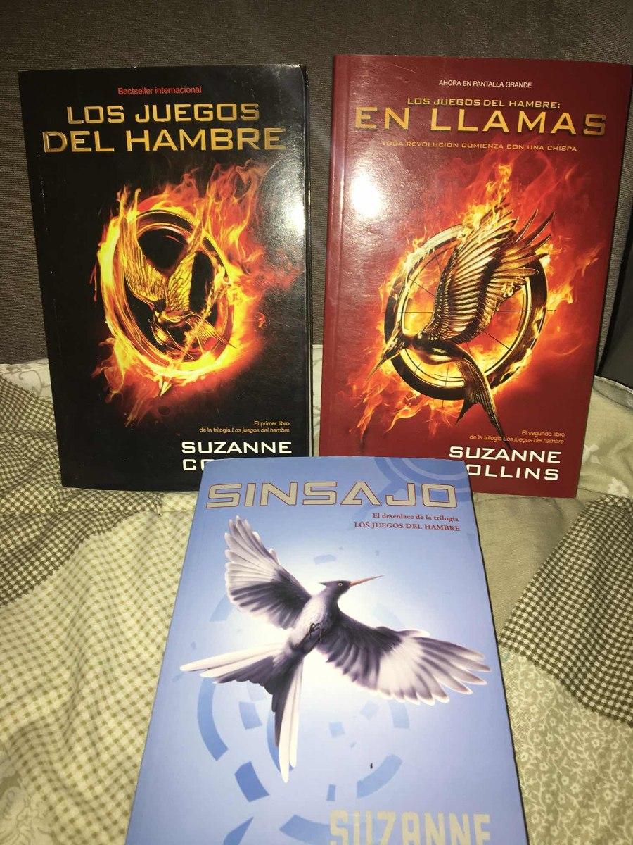 Trilogia Los Juegos Del Hambre Suzanne Collins 850 00 En
