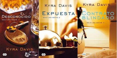 trilogía solo una noche kyra davis digital