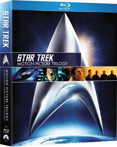 trilogía star trek blu ray  - original nueva y sellada