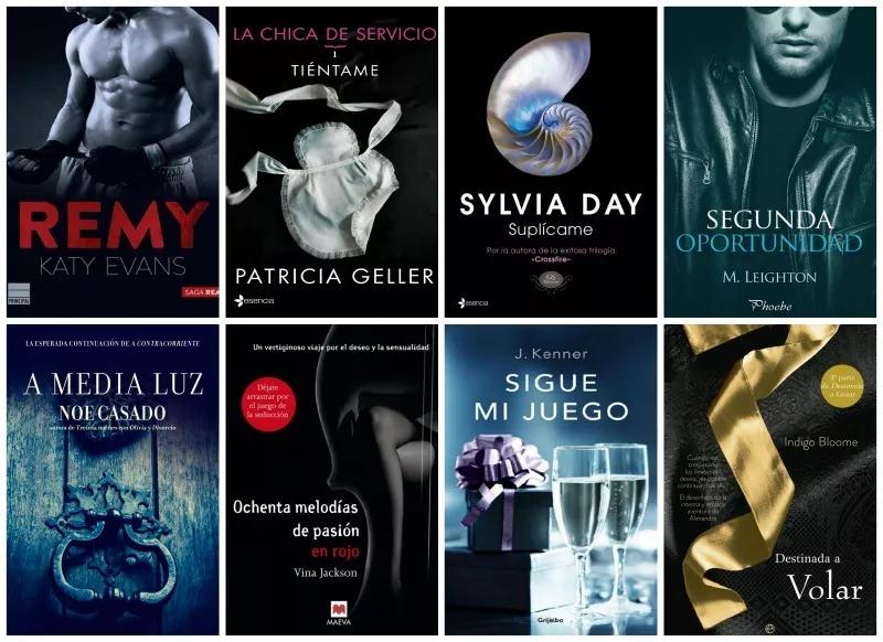 Trilogías Y Sagas 125 Libros Románticos/eróticos Pdf