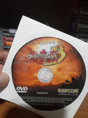 trilogy onimusha 1/2/3 originais ps2 pal europeu.