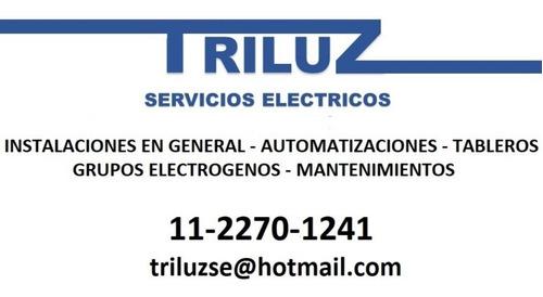 triluz  servicios eléctricos