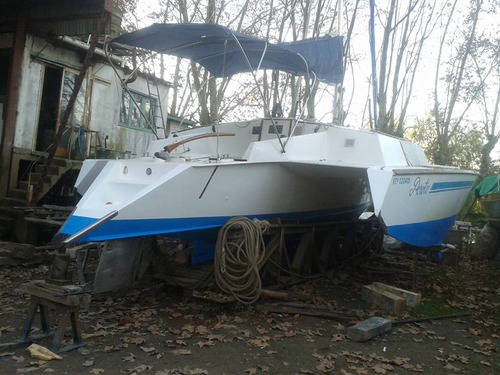 trimaran ideal crucero con volvo penta 3 cil 28 hp