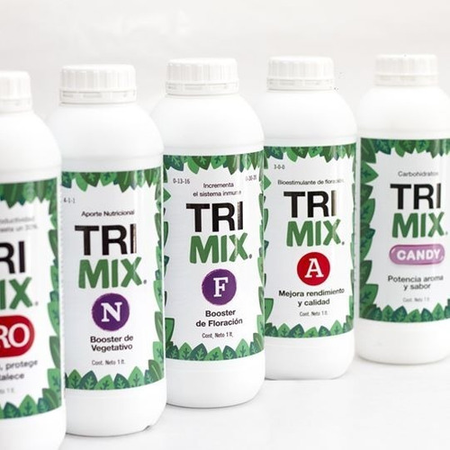 trimix treemix a 1lt- bioestimulante flora mejor calidad cantidad