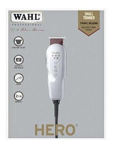 trimmer, patillera profesional wahl hero+ navaja de afeitar