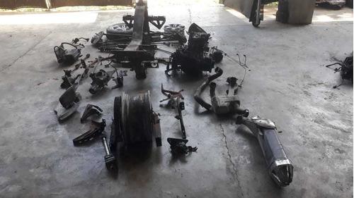 trimoto can am spyder roadster rt-ltd 2012 partes desarrmo