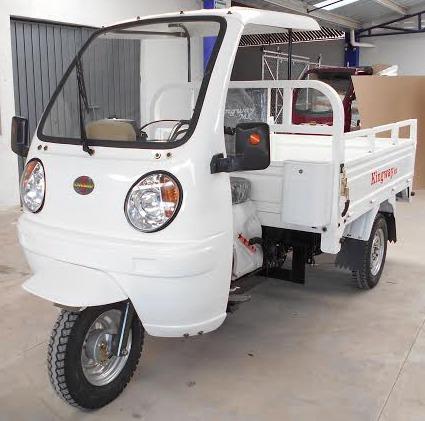 trimoto de carga 2019 caja larga 1.80 m  700 kg con cabina
