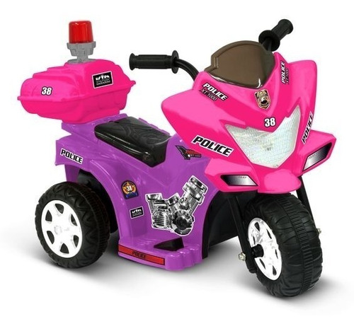 trimoto police motorcycle lil patrol